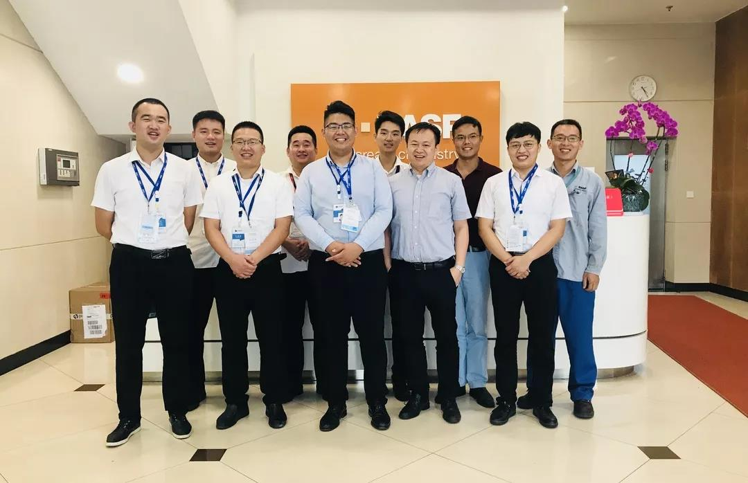 Exchange meeting with BASF New Materials Co., Ltd