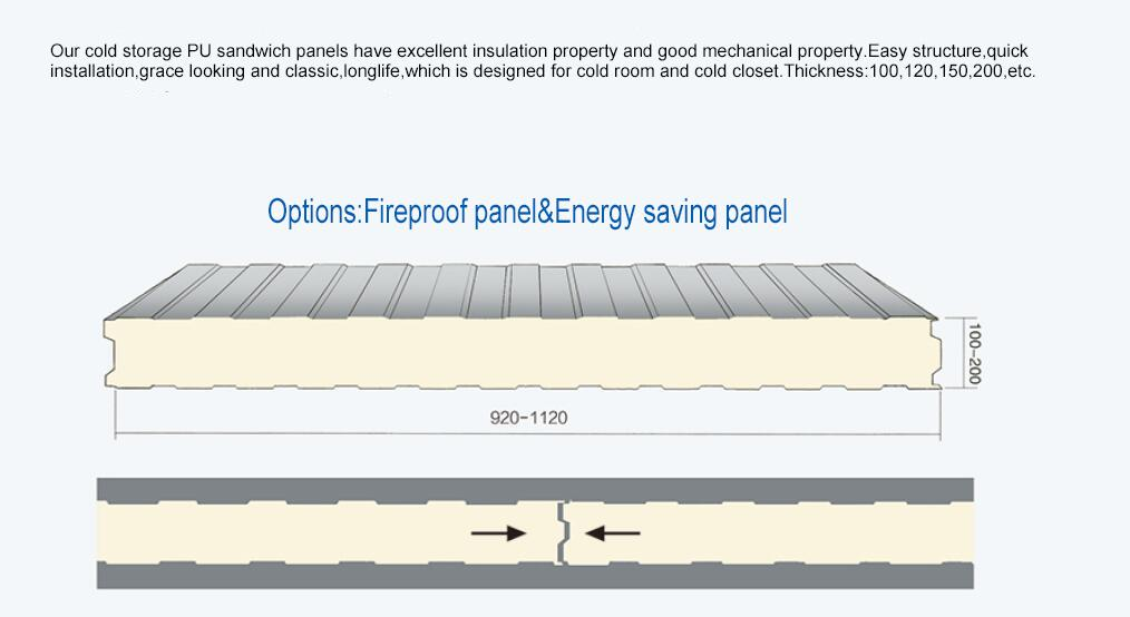 Insulated freezer panels