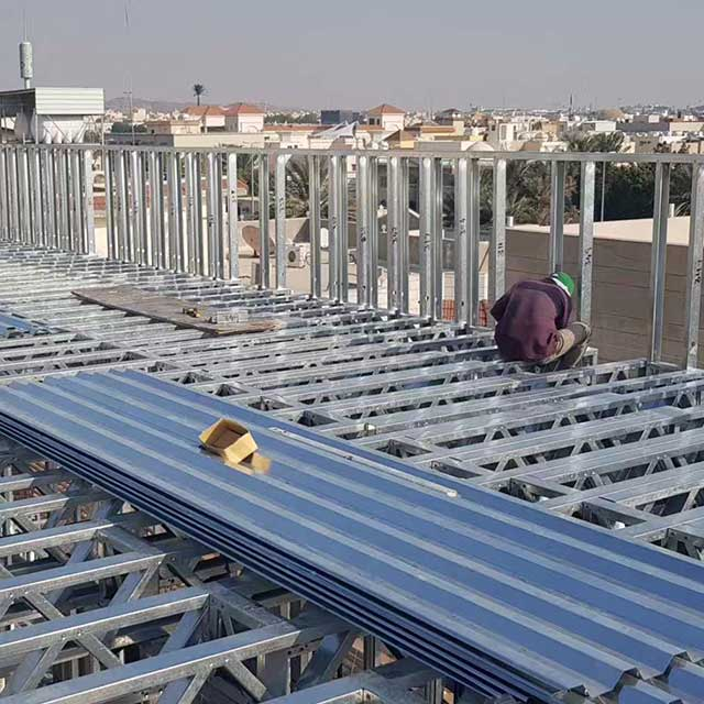 Green Light Steel Keel Villa Exported To Saudi Daman