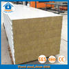 50mm Fireproof Rockwool Wall Panels for Steel Structural Buildings