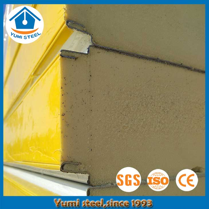 75mm Cold storage room PIR/PUR wall insulated sandwich panels