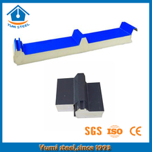 Eco-friendly Thermal Pu Sandwich Roof Panel with ISO Approved