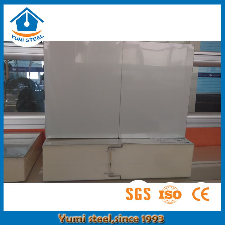 Width in 920/1000/1120mm Pu Sandwich Panel with Best Waterproof Performance for Wall